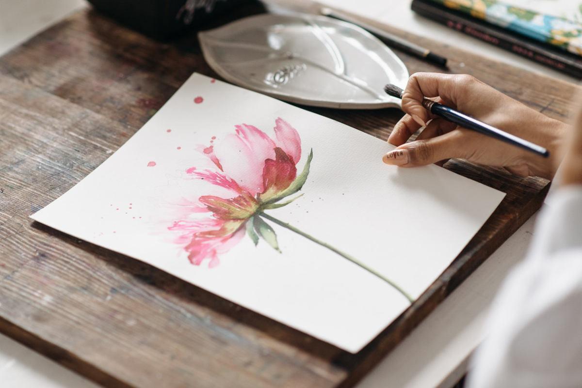 disegno di un fiore