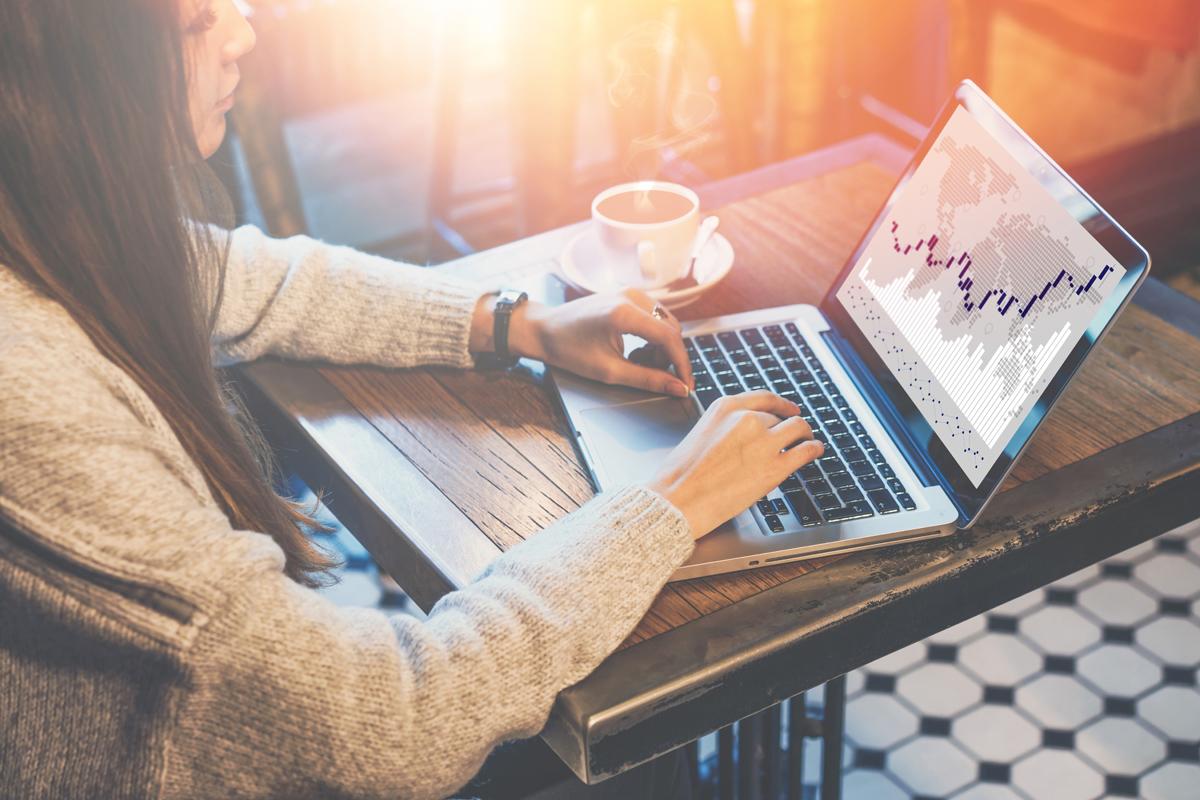 Sempre più donne fanno trading online
