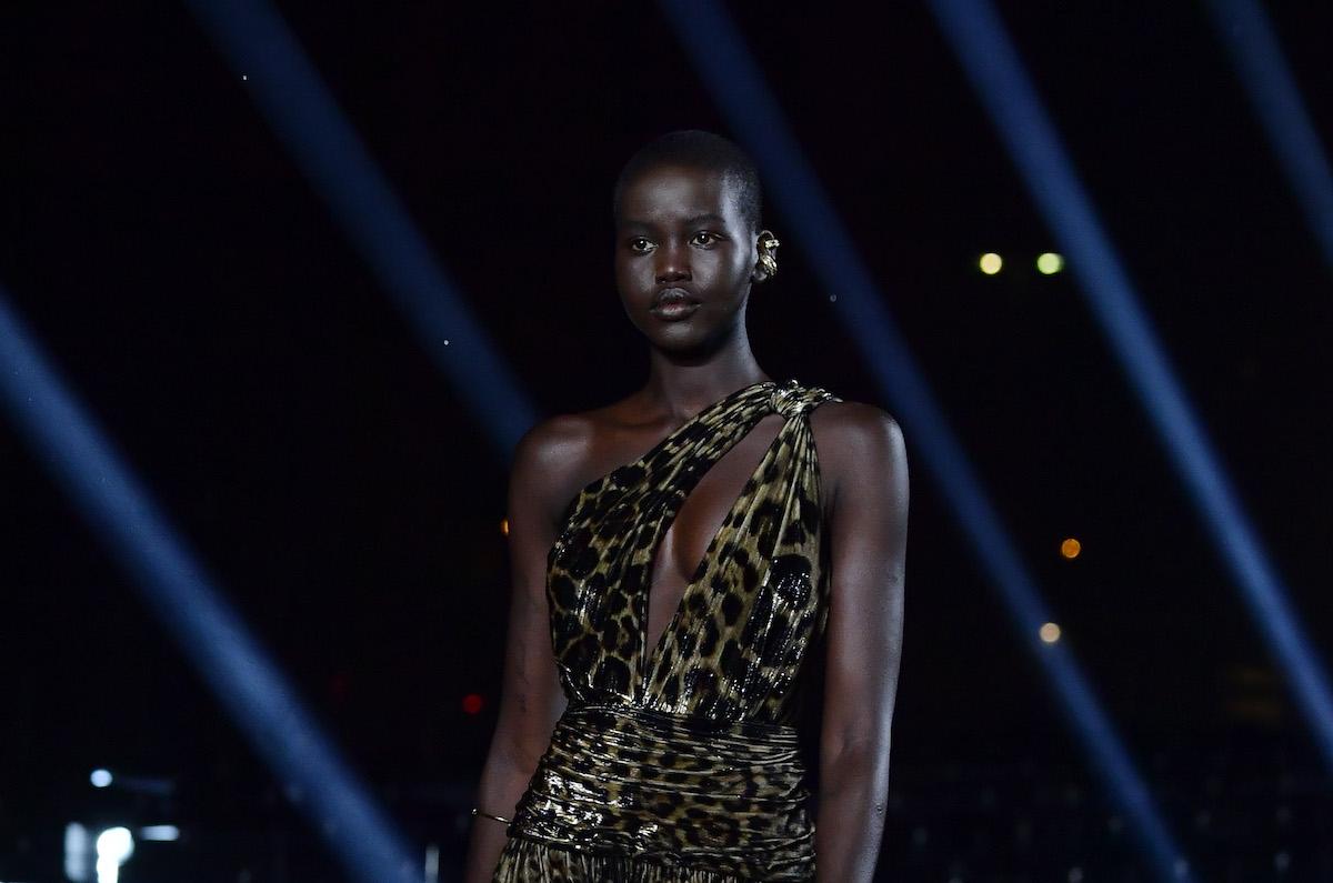 Modella Yves Saint Laurent