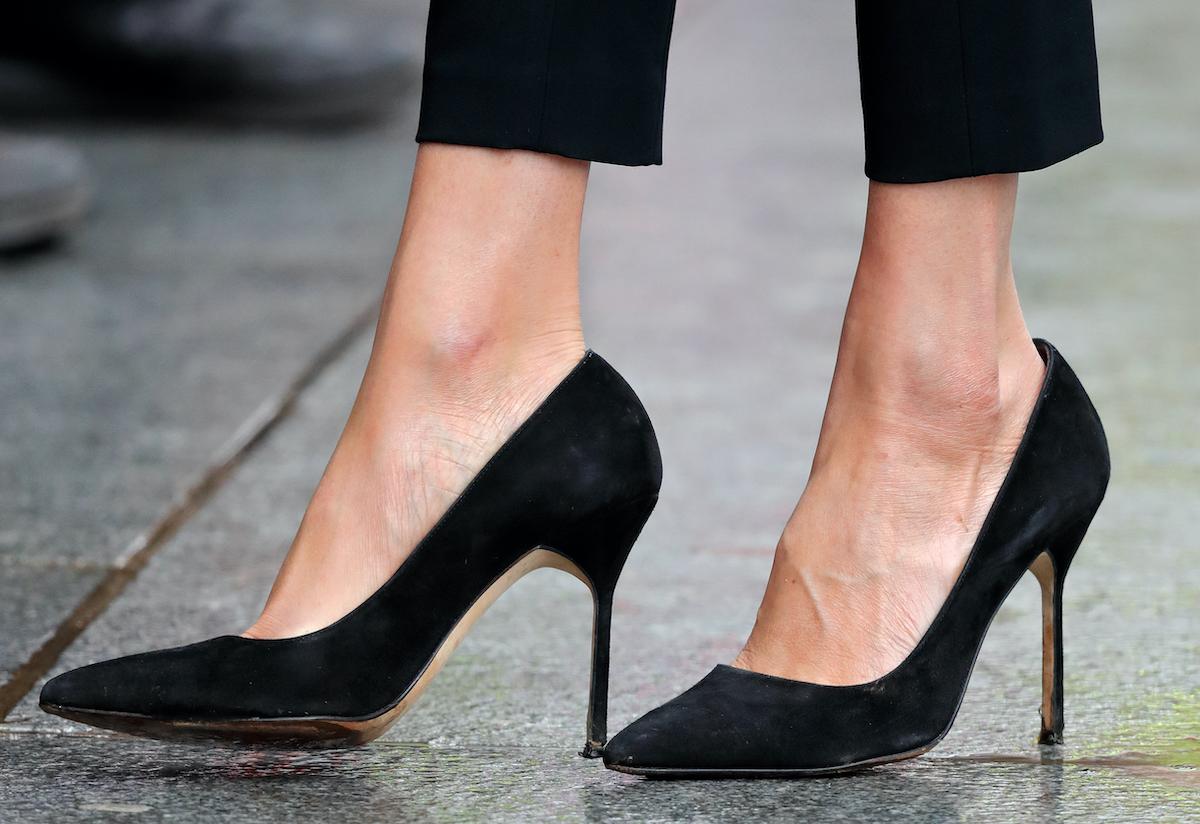 scarpe con tacco decollete pump nere