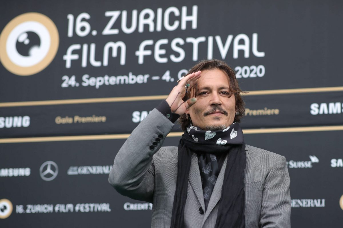 Johnny Depp allo Zurich Film Festival 2020