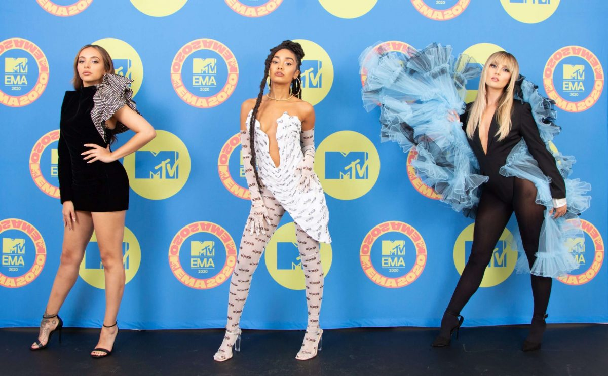 Le Little Mix sul red carpet degli Mtv EMA 2020