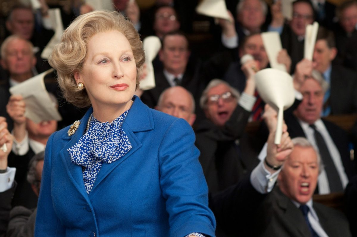 Maryl Streep interpreta Margaret Thatcher