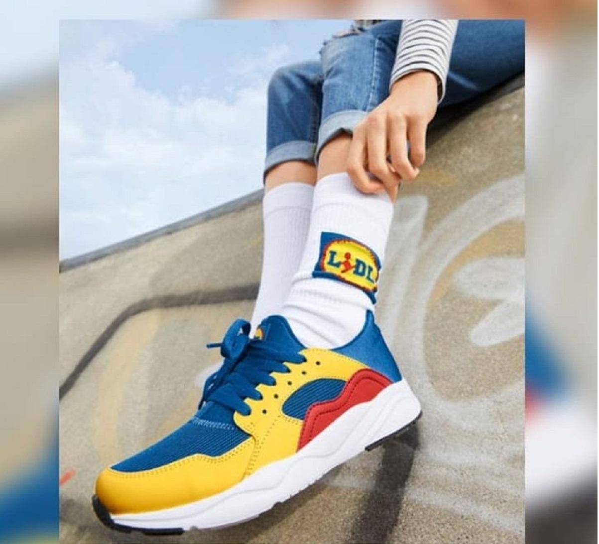 Le scarpe Lidl arrivano in Italia il 16 novembre, dopo il grande successo in Europa