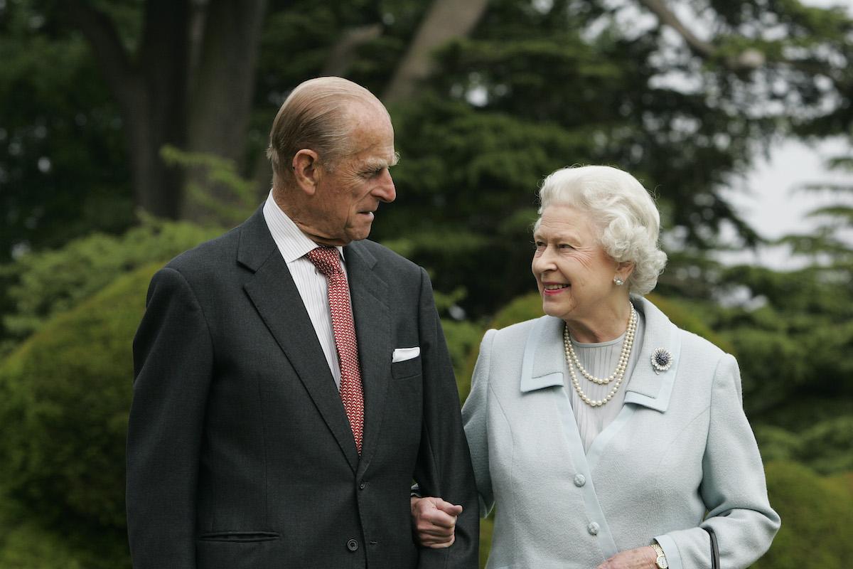 Regina Elisabetta duca di Edimburgo principe Filippo