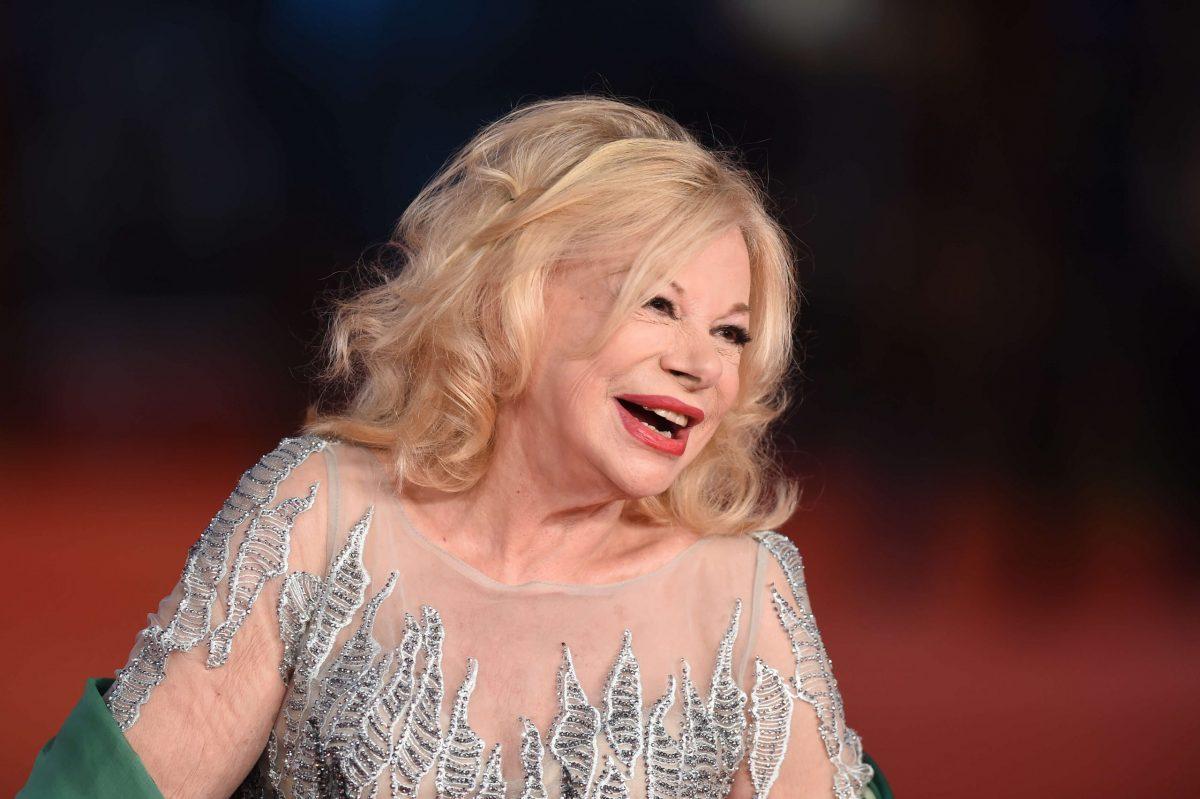 Sandra Milo al festival di Venezia nel 2019