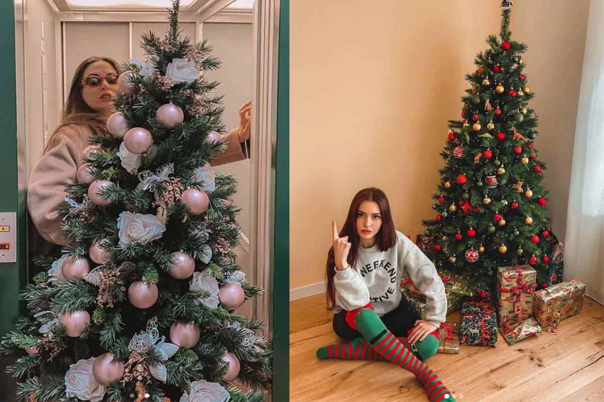 giulia valetina cami hawke alberi di natale addobbi natalizi