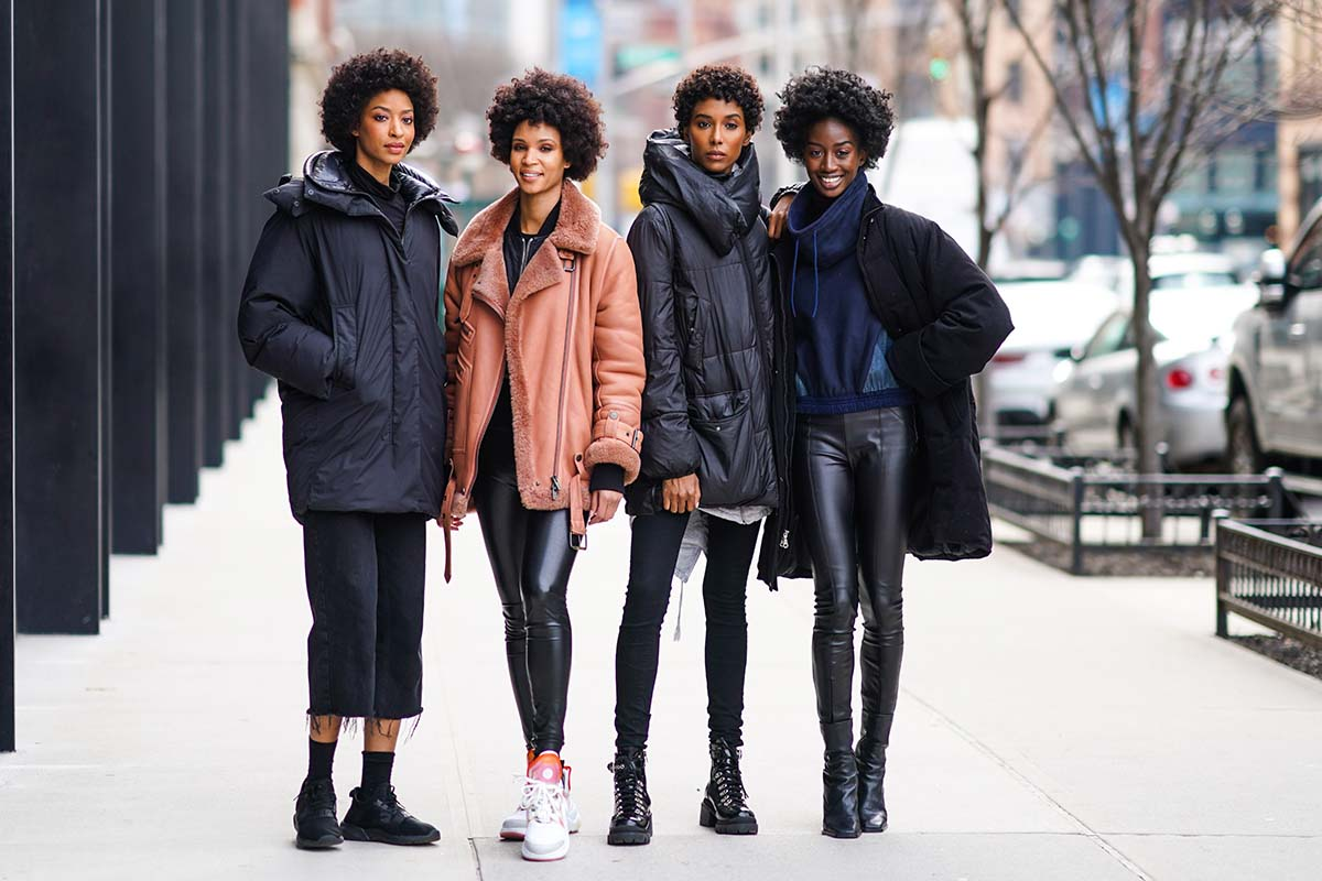ragazze leggings neri