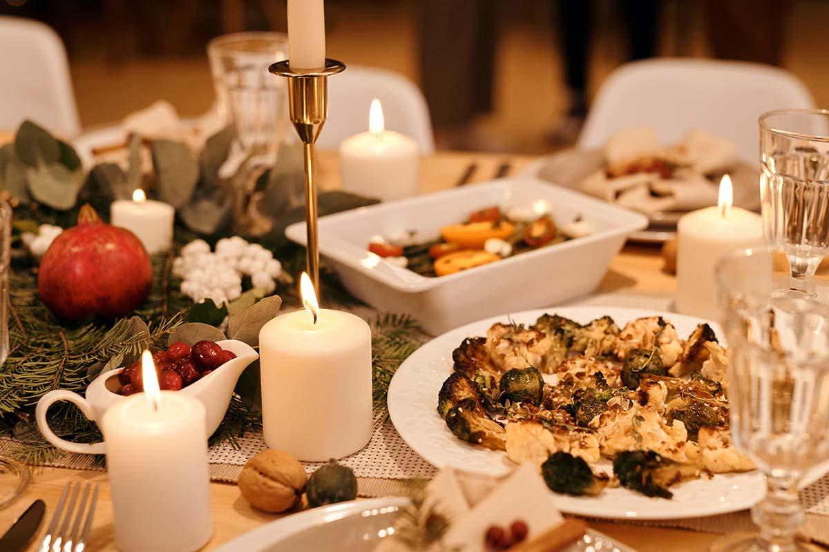 tavola natale cibo