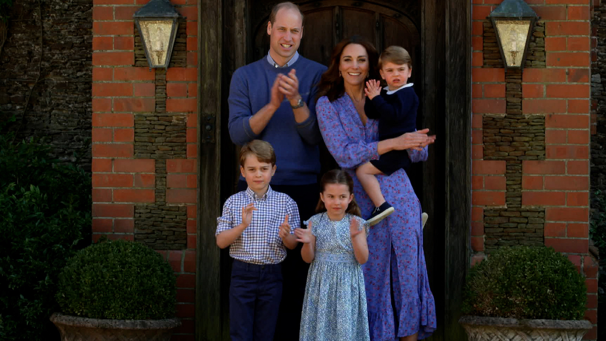 royals Cambridge Windsor William Kate George Charlotte Louis