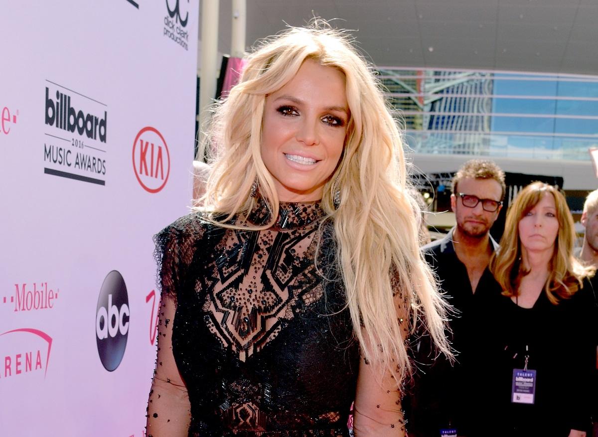 Il cantante Britney Spears assiste il 2016 Billboard Music Awards alla T-Mobile Arena il 22 maggio 2016 a Las Vegas, Nevada