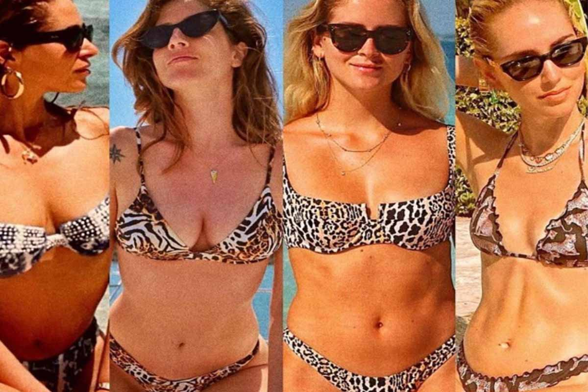 bikini sorelle ferragni