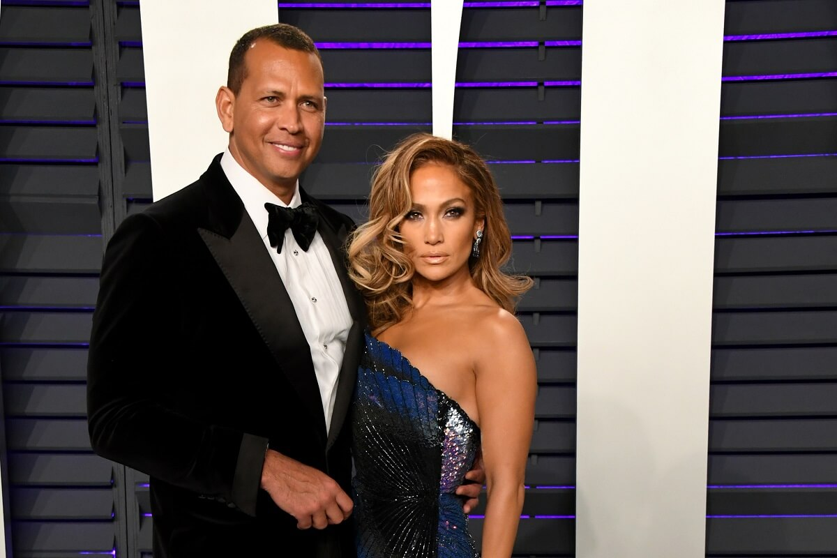 Alex Rodriguez e Jennifer Lopez partecipano al Vanity Fair Oscar Party 2019 ospitato da Radhika Jones al Wallis Annenberg Center for the Performing Arts il 24 febbraio 2019 a Beverly Hills, California