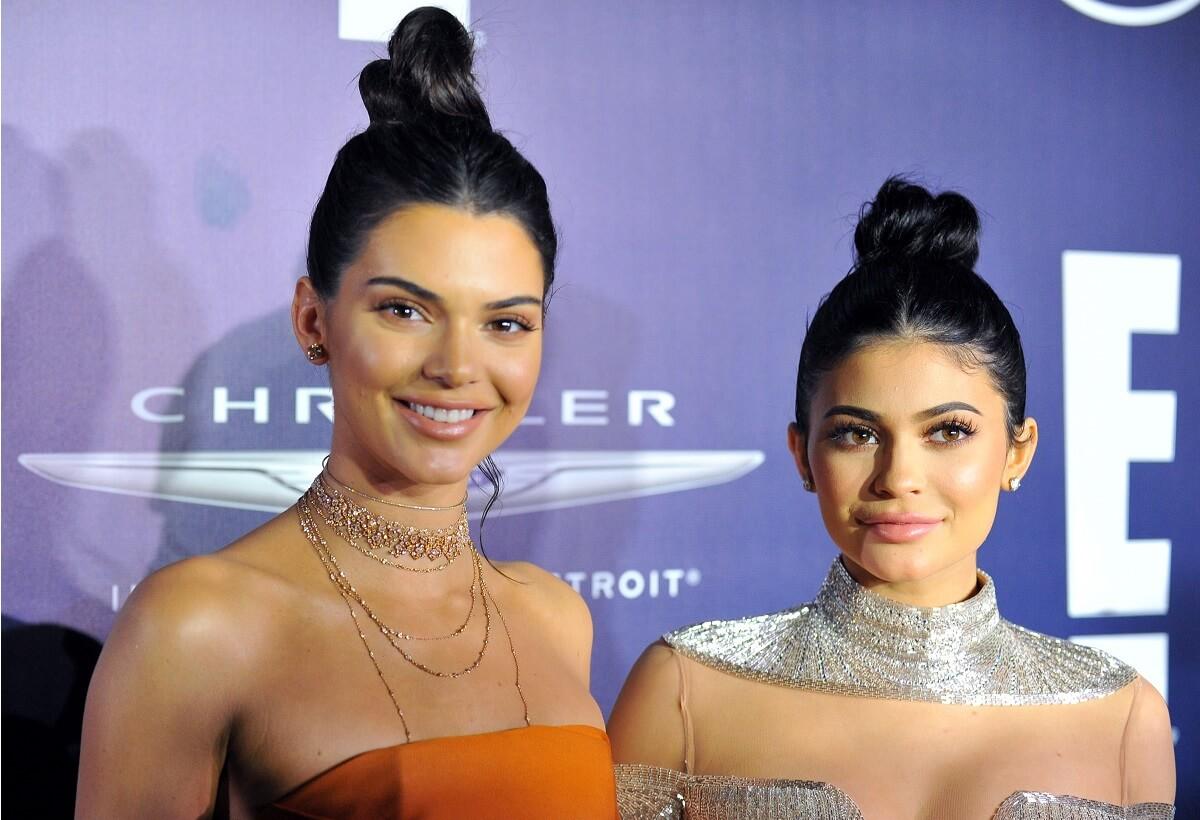 Kendall e Kylie Jenner arrivano alla 74a edizione dei Golden Globes After Party di NBCUniversal presso il Beverly Hilton Hotel l'8 gennaio 2017 a Beverly Hills, in California