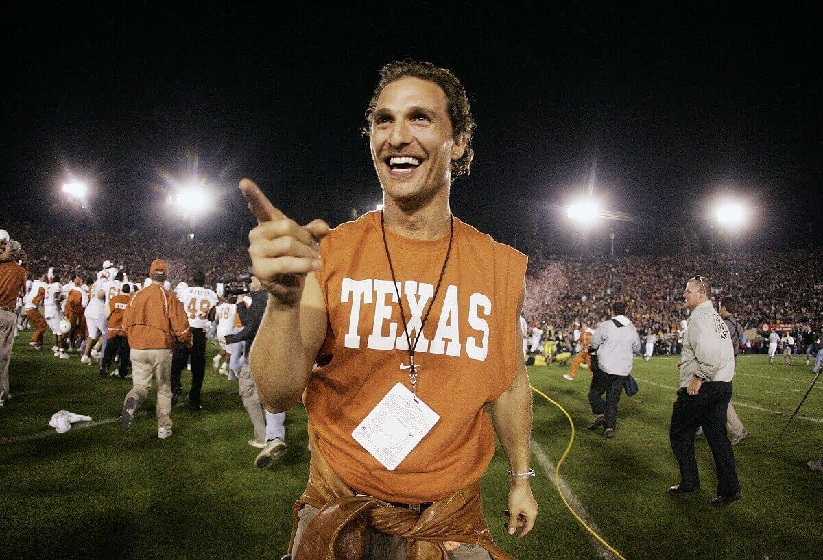 Matthew McConaughey vorrebbe candidarsi a governatore del Texas