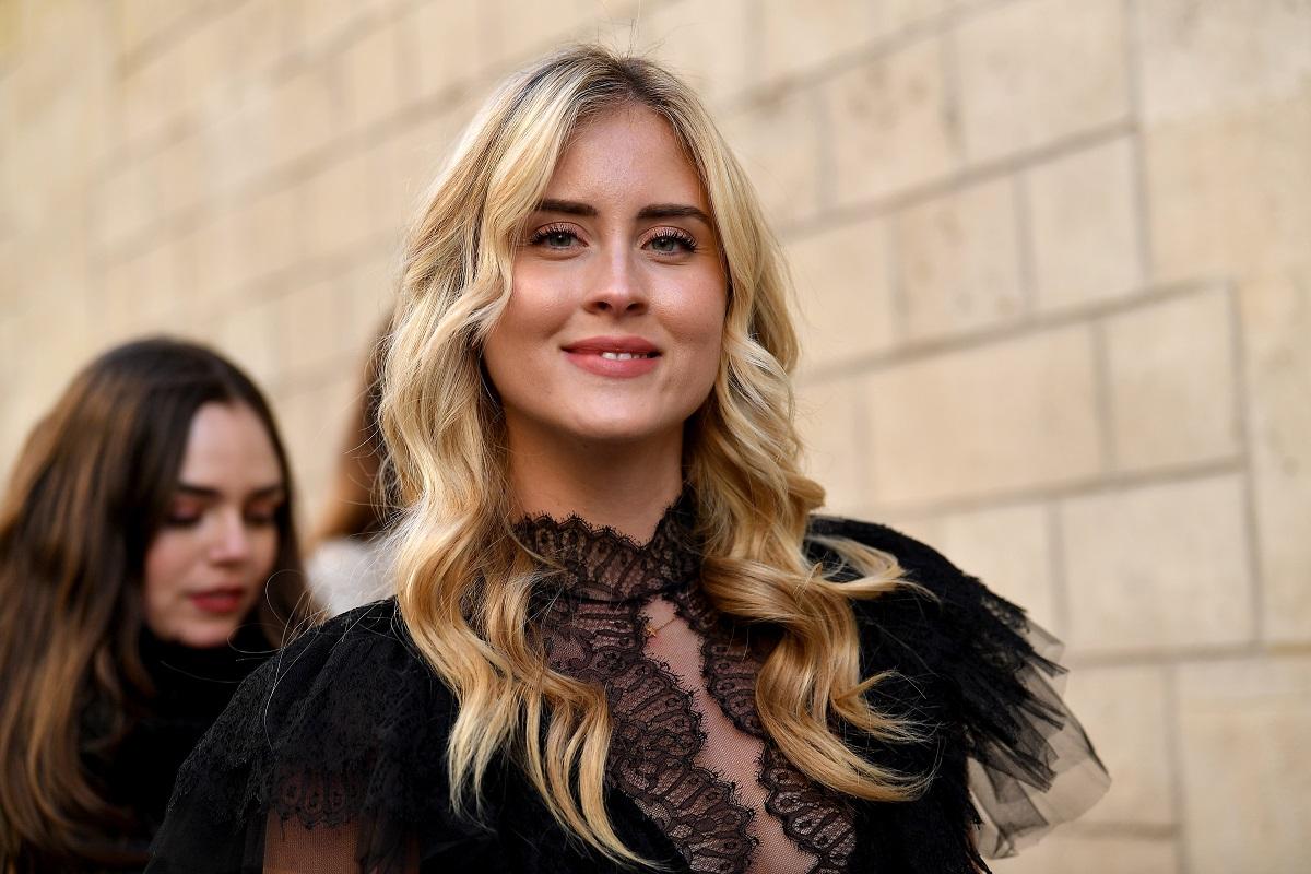 Valentina Ferragni partecipa alla sfilata Christian Dior Haute Couture Primavera Estate 2019 nell'ambito della settimana della moda di Parigi il 21 gennaio 2019 a Parigi, Francia