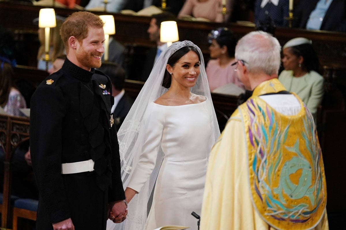 Harry e Meghan matrimonio