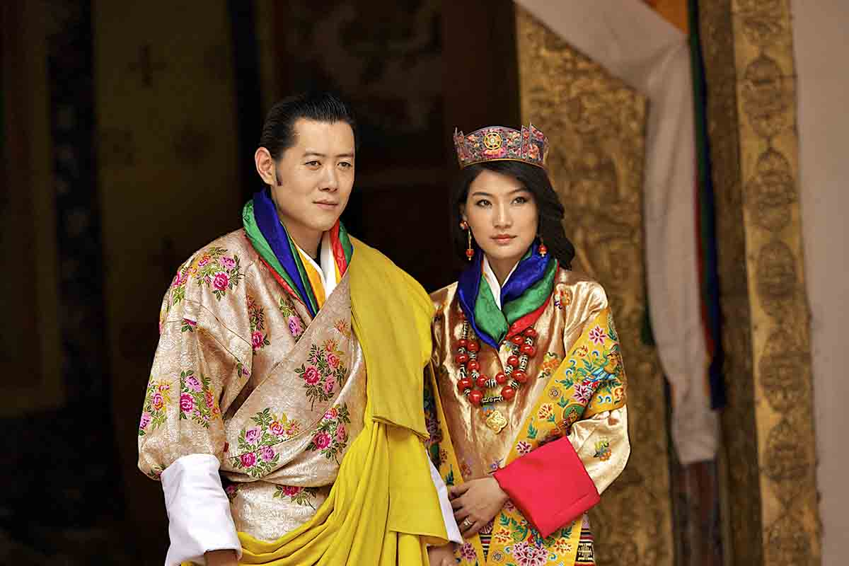 Jigme Khesar Namgyel Wangchuck Jetsun Pema reali bhutan