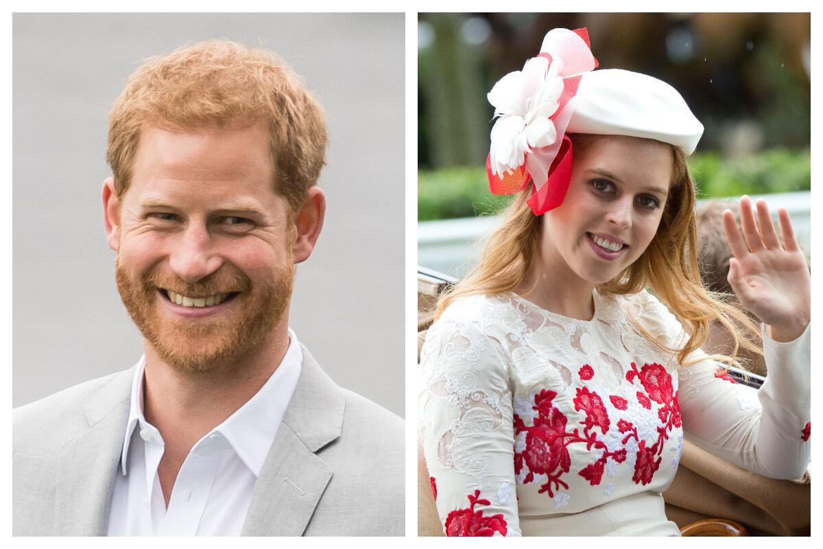 Harry e principessa beatrice