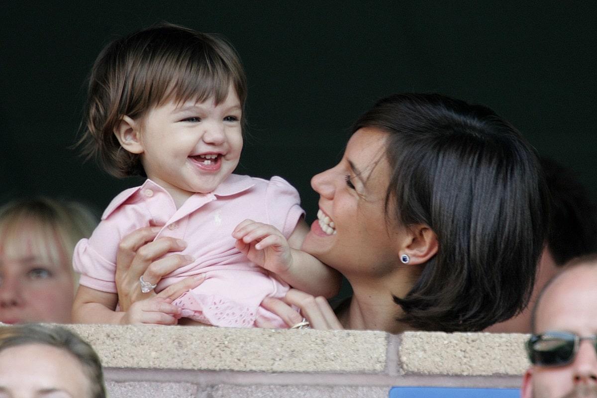 Katie Holmes e la figlia Suri Cruise da bambina