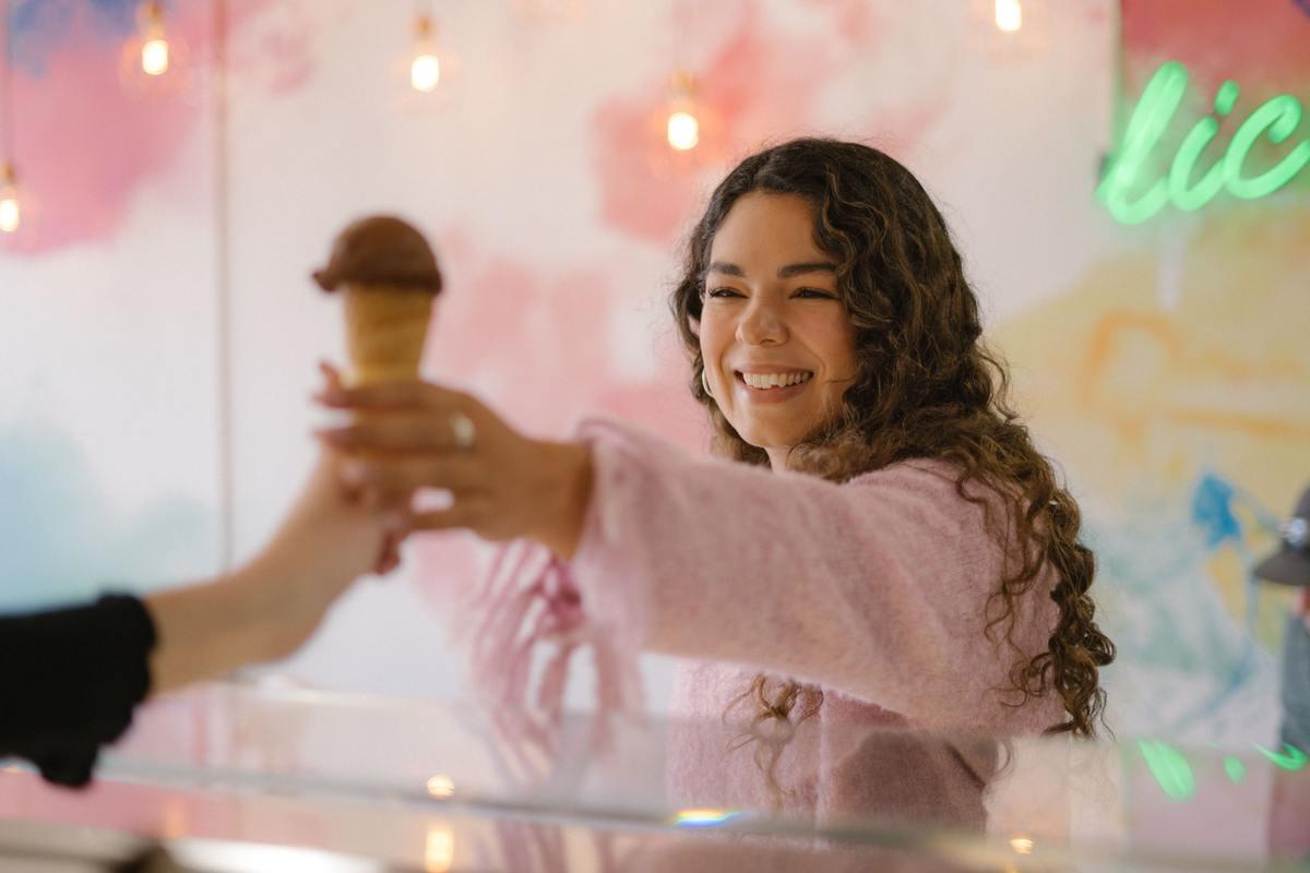 Il nuovo gelato al gusto di cacao, che però non sa di cacao