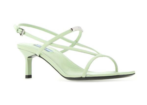 sandali verde menta
