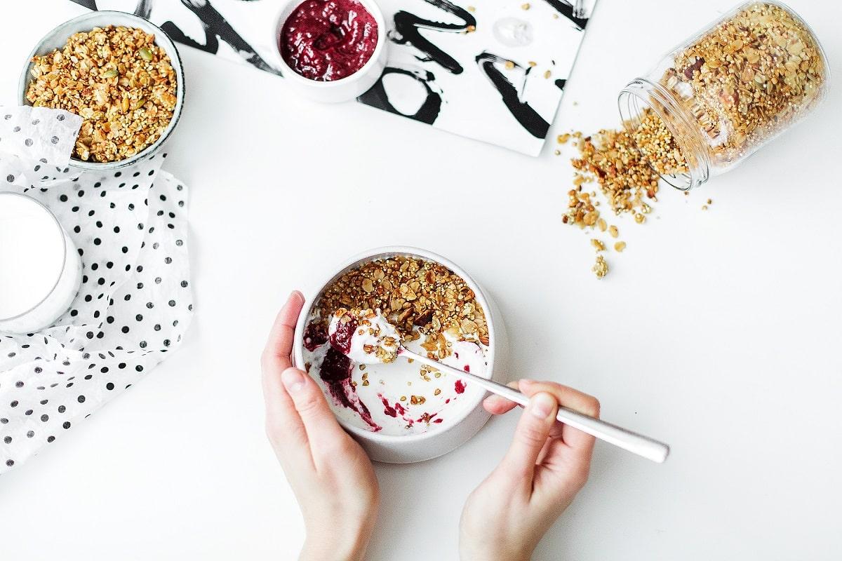 merenda spuntino yogurt
