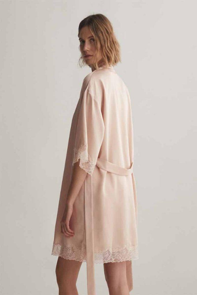 vestaglia rosa Oysho