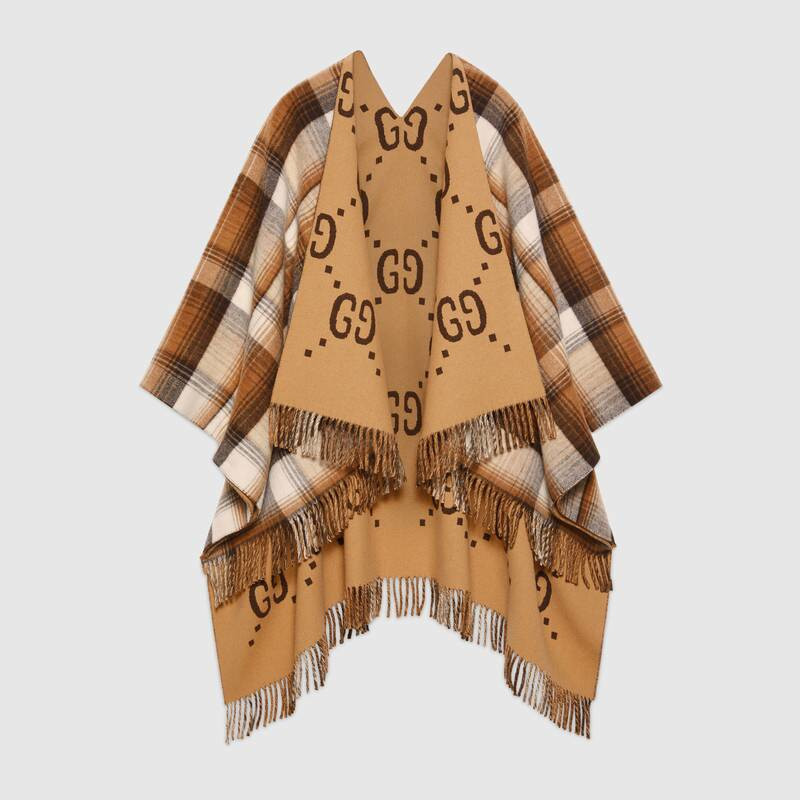 Mantella in lana Gucci