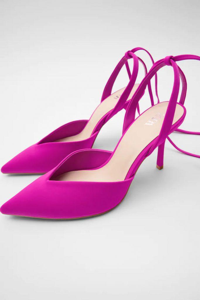 Sandali a punta Zara