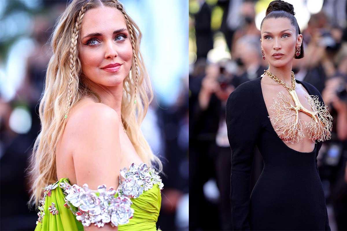 Chiara Ferragni Bella Hadid Cannes 2021