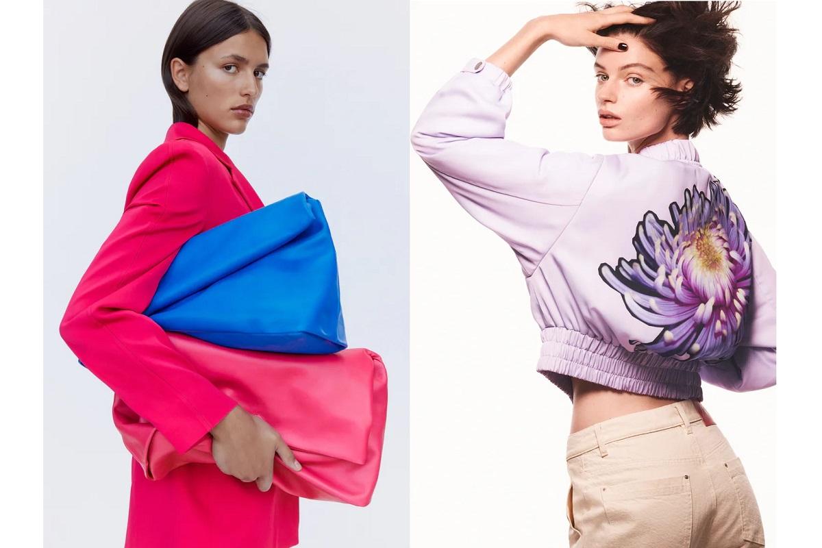 Colori accesi e fiori maxi: ecco l'autunno 2021 secondo Zara