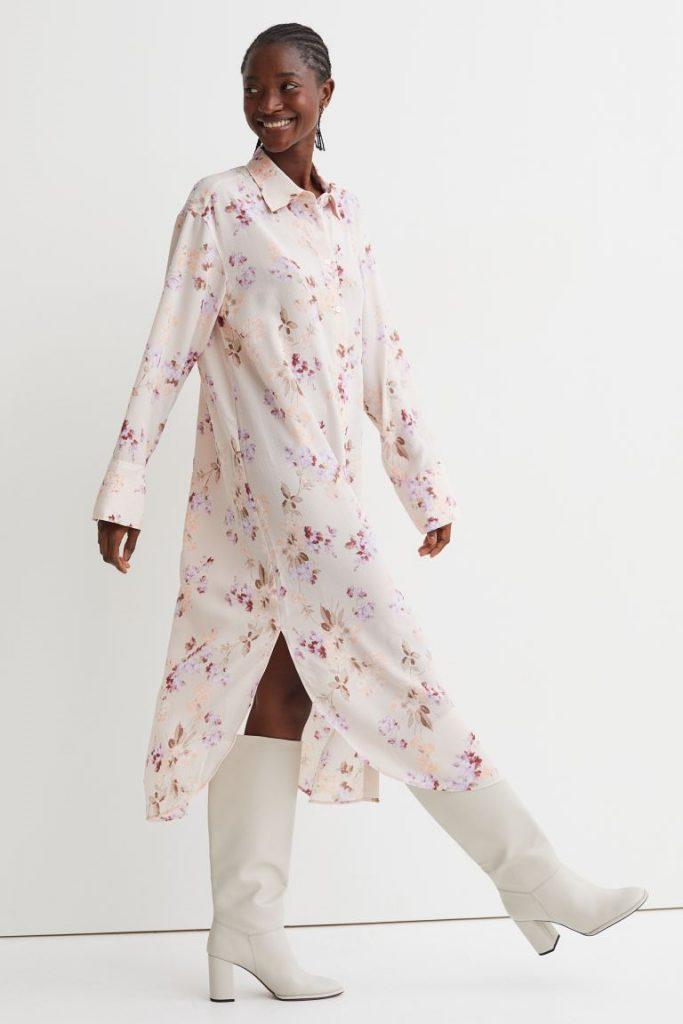 Camicione floreale H&M