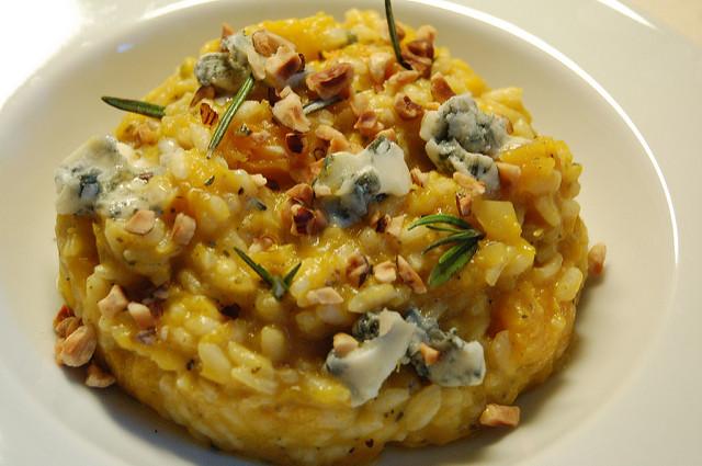 risotto-pere-gorgonzola-noci