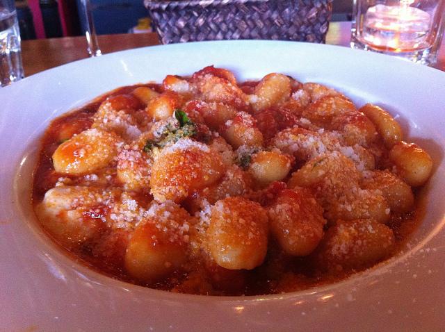 Gnocchi di semolino con salsa al pomodoro