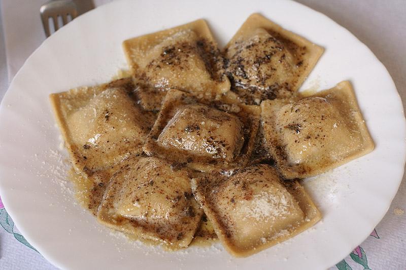Ravioli di castagne