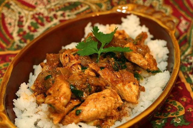 Ricette orientali con pollo