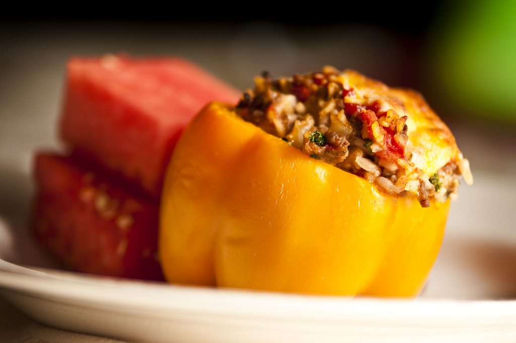 Secondi piatti con peperoni