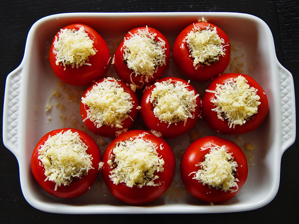 10 secondi piatti con i pomodori