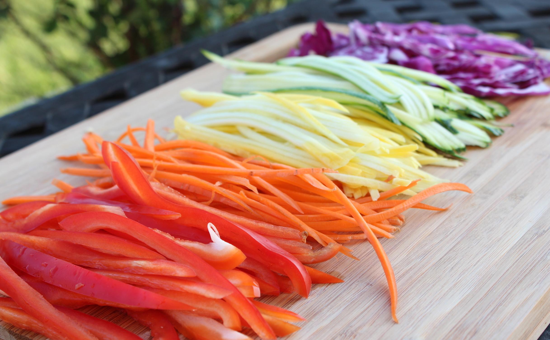 Tagliare verdure alla julienne