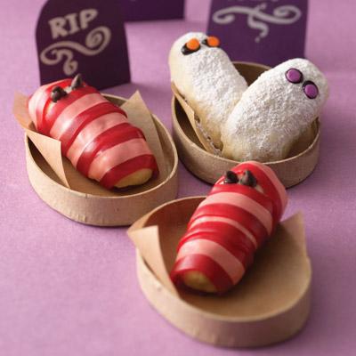 Mummie dolci di Halloween