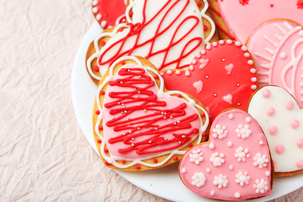 biscotti san valentino glassati