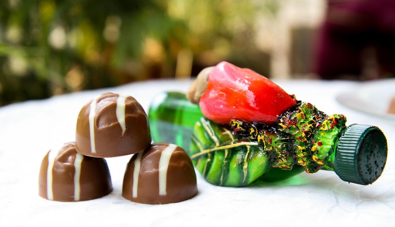 cioccolatini al liquore ricetta