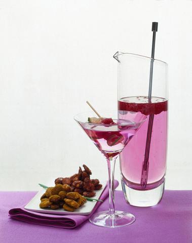 Cocktail porta fortuna al melograno