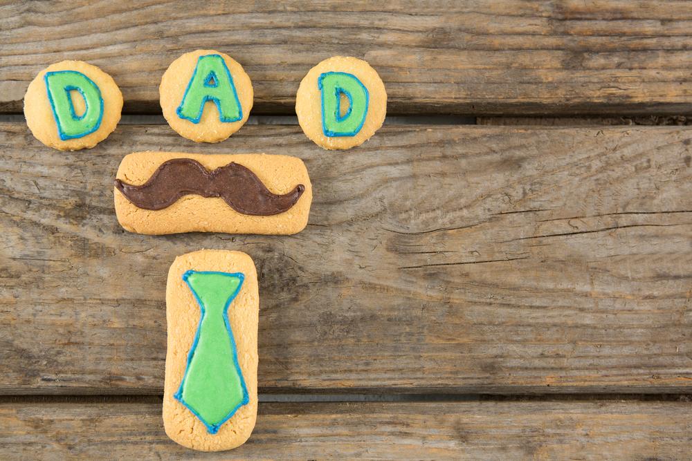 Crackers cravattine per la festa del papà