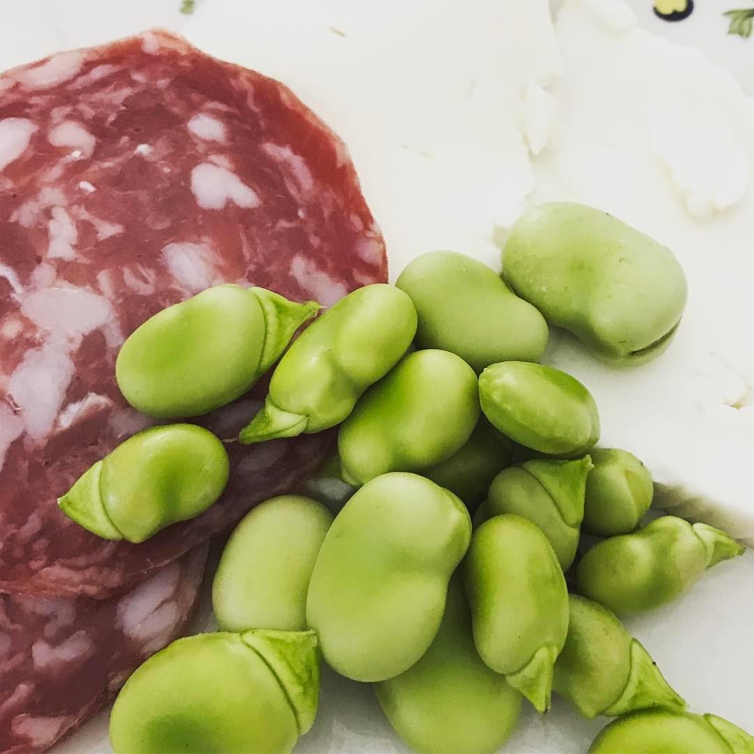 fave e salame insalata ricetta