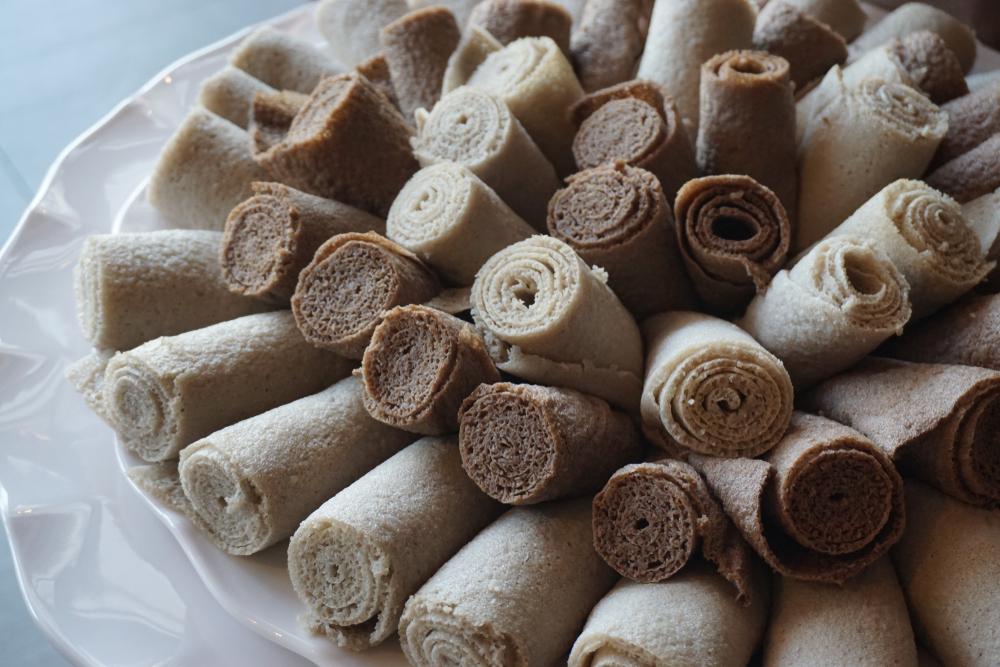 Injera (pane dell'etiopia)