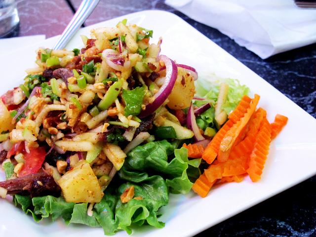 insalata di ananas ricetta