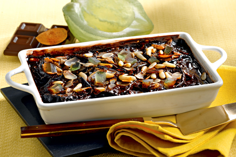 melanzane al cioccolato.ricetta originale