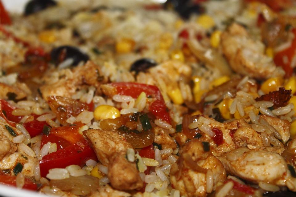 Paella di pollo